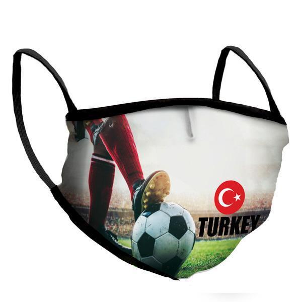 Маска за многократна употреба Euro 2021 - Turkey