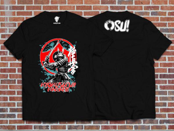 Ninja Тениска - Киокушин - Самурай