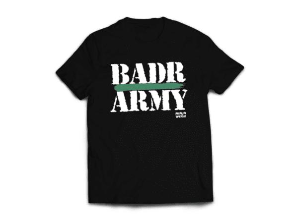 Ninja Тениска - ОБЩИ - BADR ARMY