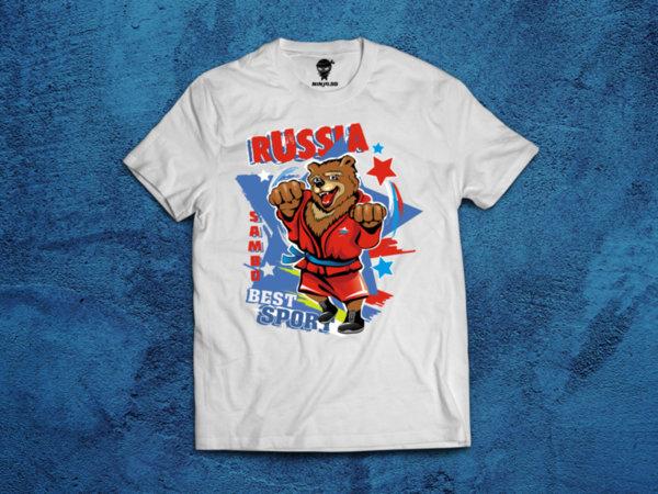 Ninja Тениска - Самбо - Мечка