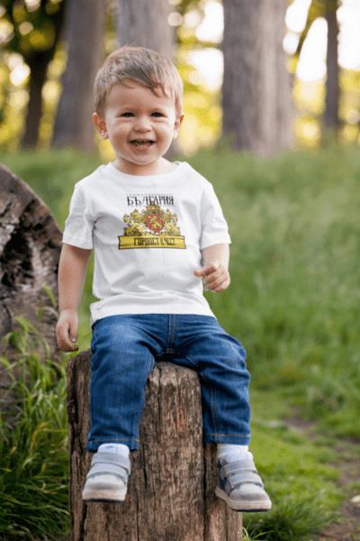 Ninja Тениска - България - Гордост и Чест - Детска