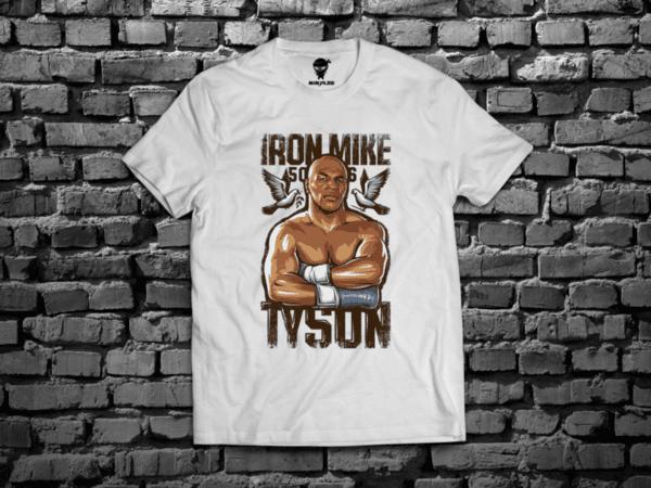 Ninja Тениска - Бокс - Mike Iron Tyson