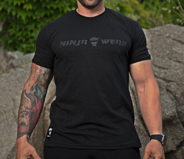 Ninja Тениска - Ninja Wear Black in Black