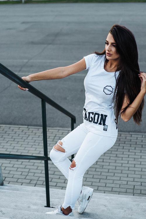 Octagon дамска тениска Bad Girl