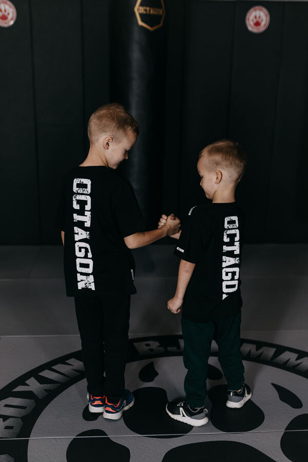 Octagon детска тениска Fight Wear Black
