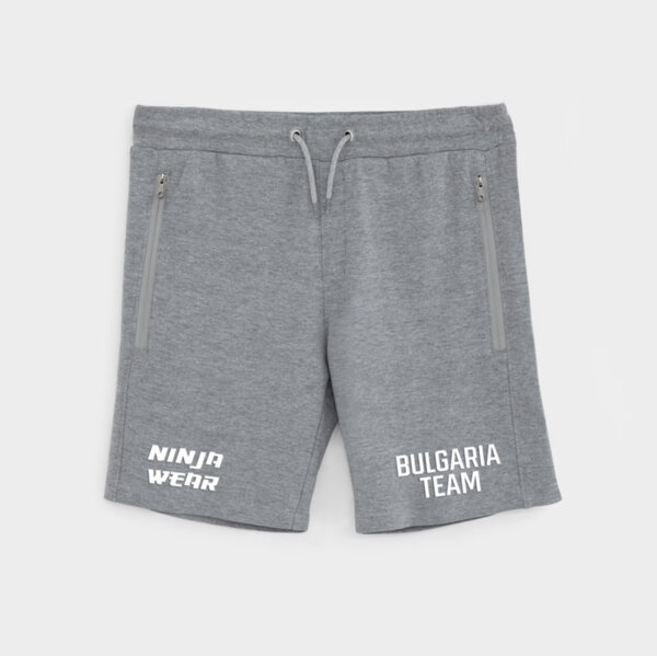 Ninja Wear Шорти - Bulgaria Team - Сиви