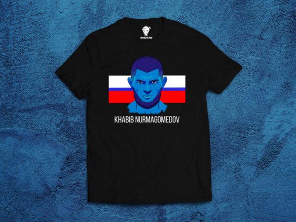 Ninja Тениска - ОБЩИ - Khabib Nurmagomedov