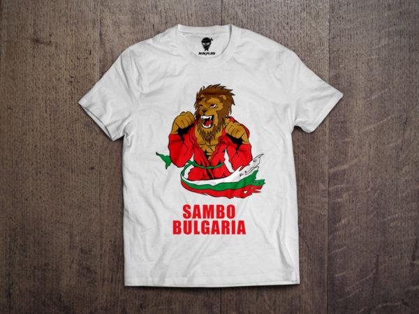 Ninja Тениска - САМБО - Лъв