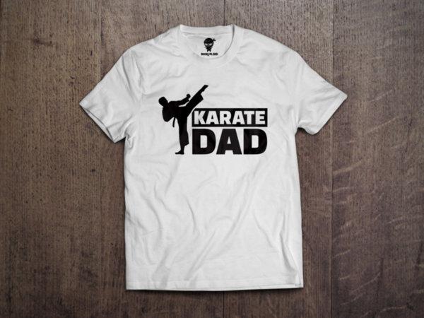 Ninja Тениска - Карате - Karate Dad