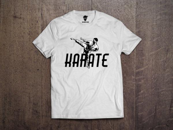 Ninja Тениска - Карате - Кик