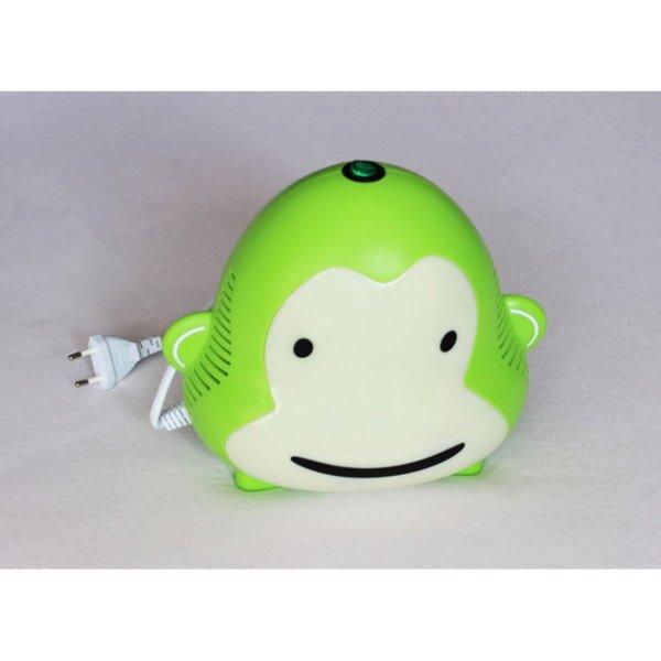 Детски компресорен инхалатор / Небулизатор маймунка (Green)