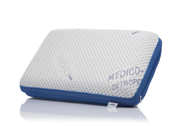Ортопедична мемори възглавница с охлаждащ гелMedico Silver Care Maxcool, 68х39х11,5 см