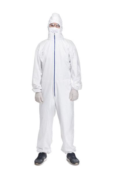 Защитен костюм за многократна употреба Medico Guard + , с усилена, непромокаема PU лента на шева