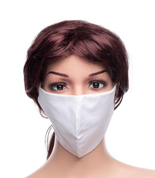 Предпазна маска за лице Medico, трислойна, бяла