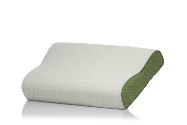 Анатомична мемори възглавница Medico Aloe Wellness Cool Sleep, с охлаждащ гел, 60 СМ Х 41 СМ Х 11 СМ