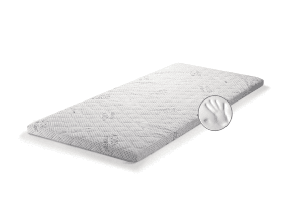 Топ матрак със Сребърни йони - двулицев, цип, 6 см, Medico Plus Silver Care Memory