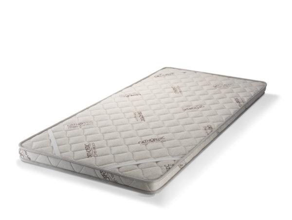 Топ матрак с Лен - двулицев, 6 см, Medico Plus Linen Organic Memory