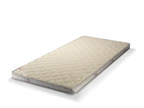 Топ матрак с Лен и Мериносова вълна - двулицев, 6 см, Medico Plus Linen Organic Merino Memory
