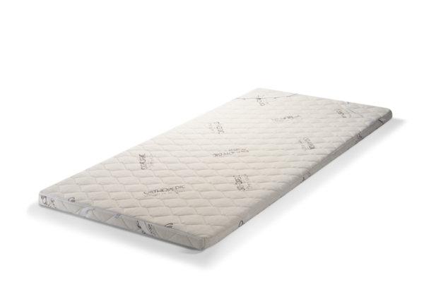 Топ матрак с Лен - двулицев, цип, 6 см Medico Plus Linen Organic