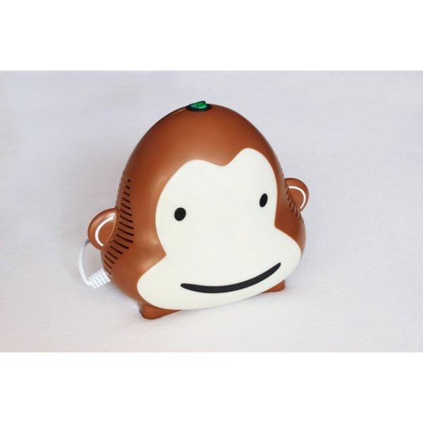 Детски компресорен инхалатор / Небулизатор маймунка (brown)