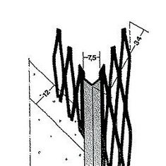 Ъглов профил за мазилка 1007 , 260 см