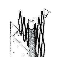 Ъглов профил за мазилка 1007 , 300 см