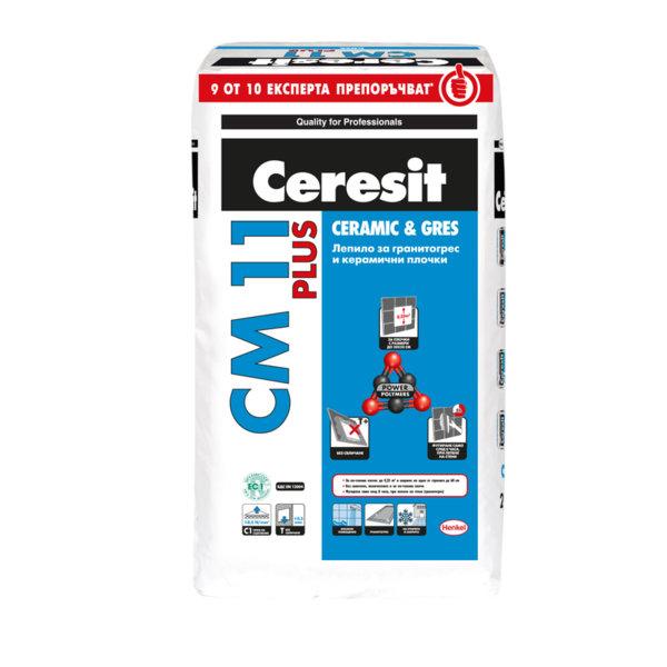 Лепило за гранитогрес и керамични плочки CM 11 Plus Gres - 5 кг