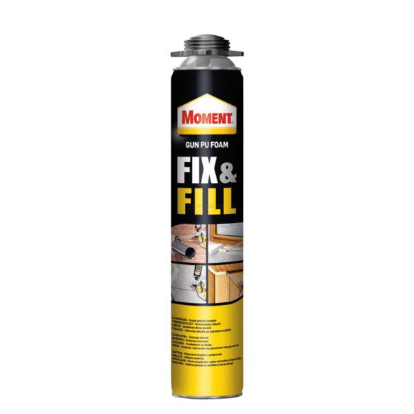 Пистолетна полиуретановa пяна Moment Fix & Fill Gun PU Foam