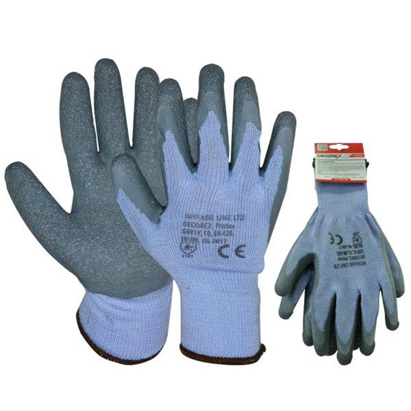 Ръкавици топени в латекс PROTEX, с възможност за окачване