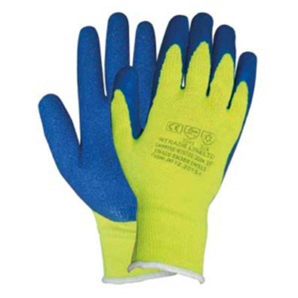 Ръкавици топени в латекс, зимни SAPFFIRE WINTER