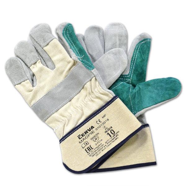 Ръкавици телешка кожа усилени MAGPIE