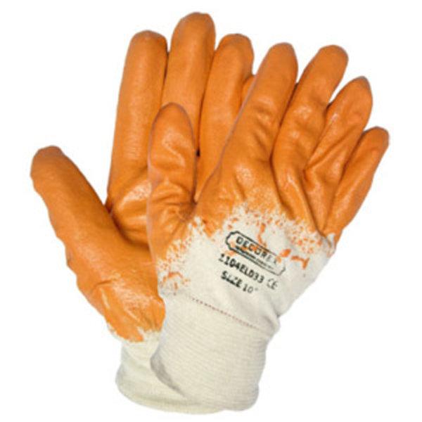 Ръкавици топени в нитрил жълти DECOREXPREDPAZN