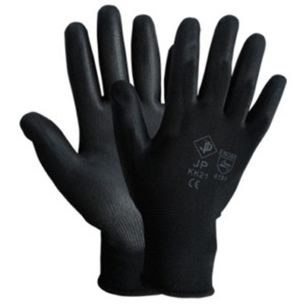 Ръкавици топени в латекс черни DECOREXPREDPAZN