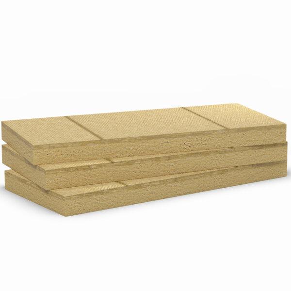 Каменна вата Frontrock Max E 600 / 1000 / 100 ʎ0.036 W / mK двуслойна плътност 1.80 m² / пак - 3 листа