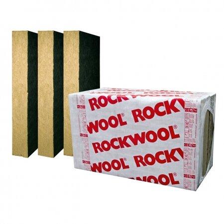 Каменна вата Airrock ND FB1 - 1000 / 600 / 100 мм  - 50 kg/м3 ; ʎ0.035 W / mK - черен воал