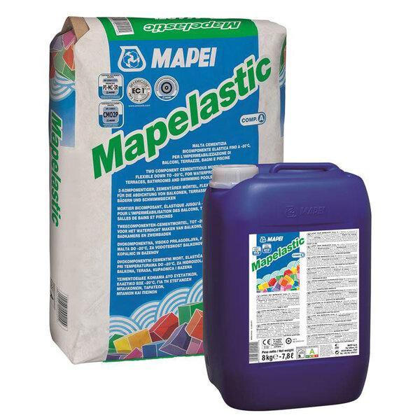 Пастообразна двукомпонентна хидроизолация Mapelastic A + B 32 кг