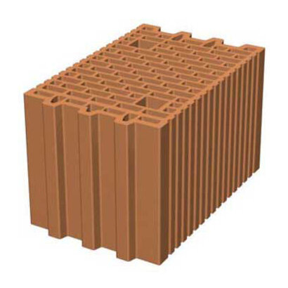 Керамични блокове Porotherm 25 N+F 375 x 250 x 238