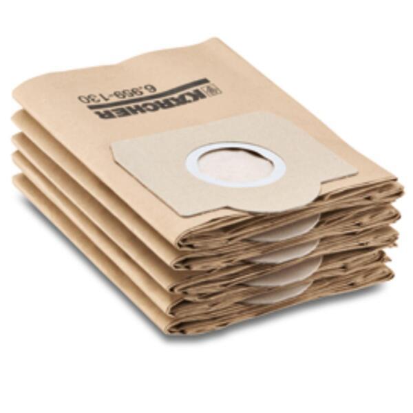 """Филтърни торбички хартиени ( 5 бр.) SE,WD3"""" KӒRCHER"""