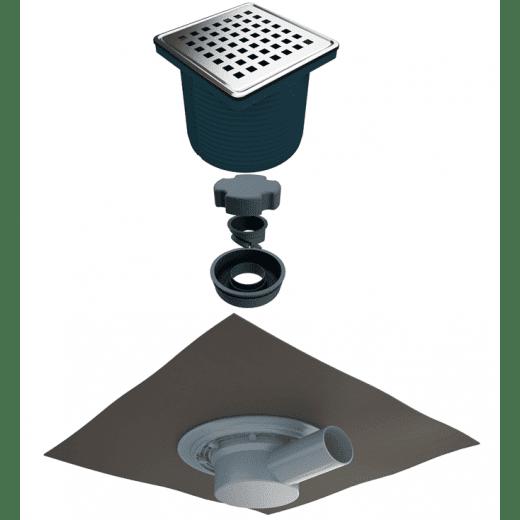 Регулируем сифон с битумна мембрана, М150-10-1 AKVO