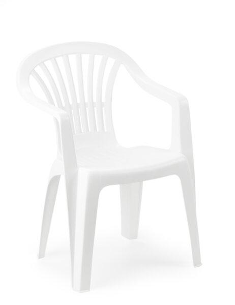 Пластмасов стол Altea 56 x 54 x 80 см бял Home Decor