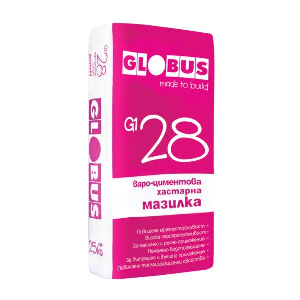 Варо-циментова хастарна мазилка GLOBUS G1 28