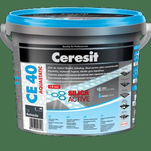 Фугираща смес CE 40 сребриста 2 кг Ceresit