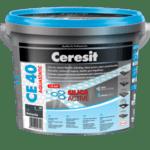Фугираща смес CE 40 метално сив 2 кг Ceresit
