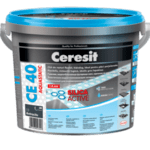 Фугираща смес CE 40 въглен 2 кг Ceresit