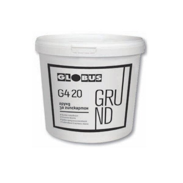 Грунд за гипскартон GLOBUS G4 20