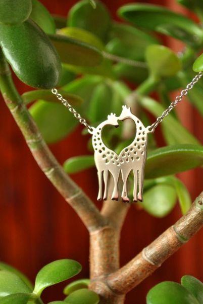 Колие Влюбени Жирафи
