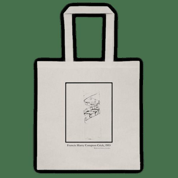 Памучна еко чанта Двойната Спирала