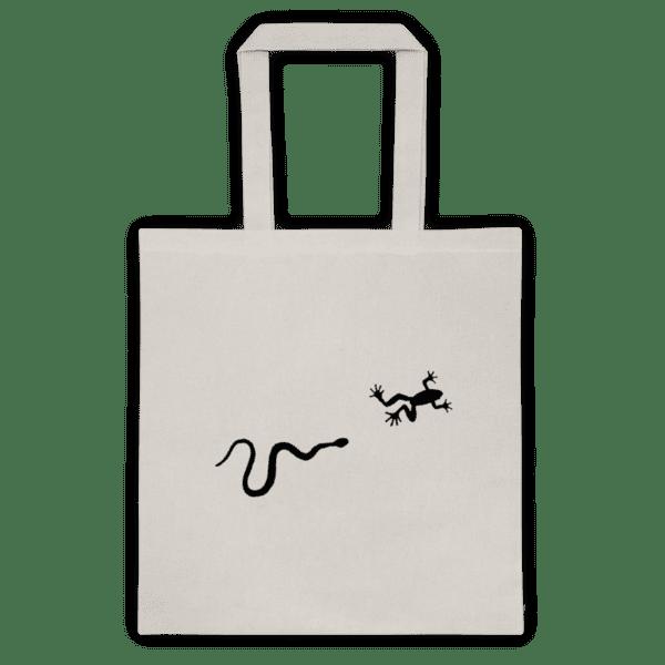 Памучна еко чанта Жаба и Змия