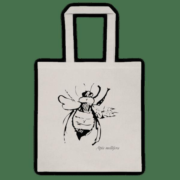 Памучна еко чанта Стилизирана Пчела