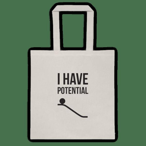 Памучна еко чанта Потенциал